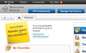 MyMM SAP Portal